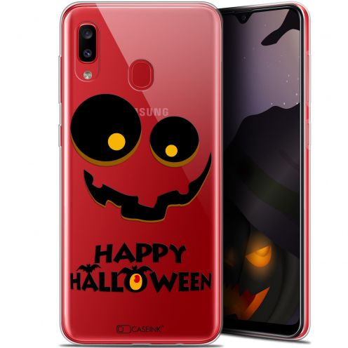 "Carcasa Gel Extra Fina Samsung Galaxy A20 (6.4"") Halloween Happy"