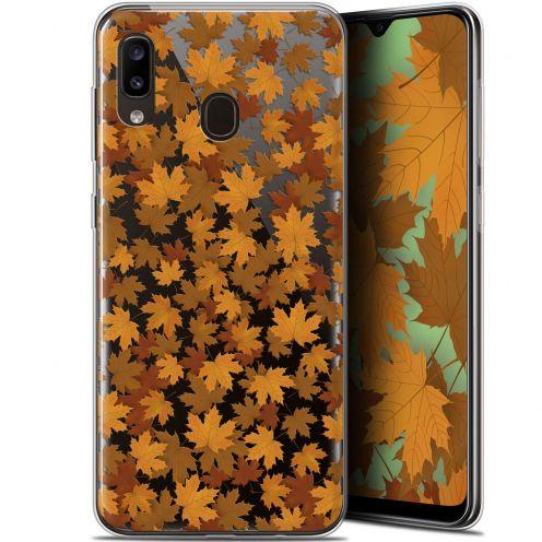 "Carcasa Gel Extra Fina Samsung Galaxy A20 (6.4"") Autumn 16 Feuilles"