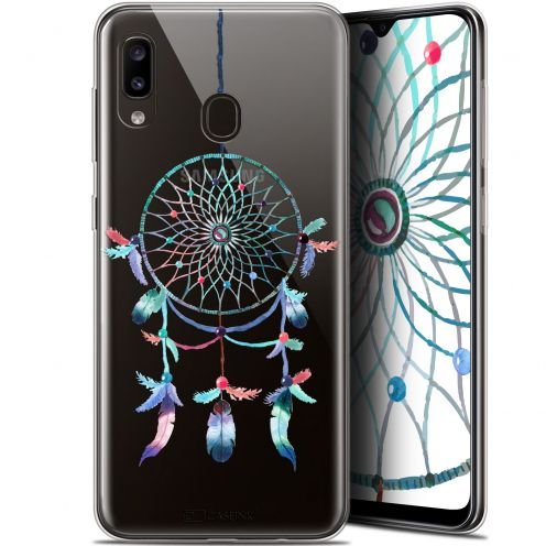 "Carcasa Gel Extra Fina Samsung Galaxy A20 (6.4"") Dreamy Attrape Rêves Rainbow"