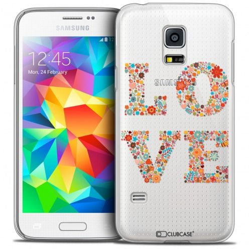 Carcasa Crystal Extra Fina Galaxy S5 Mini Summer Love Flowers