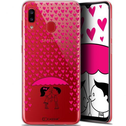 """Carcasa Gel Extra Fina Samsung Galaxy A20 (6.4"""") Love Pluie d'Amour"""