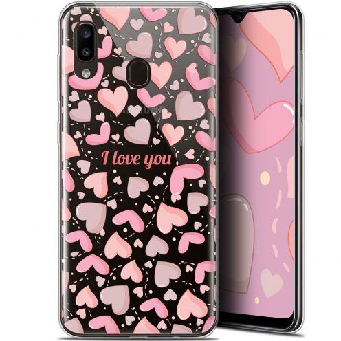 "Carcasa Gel Extra Fina Samsung Galaxy A20 (6.4"") Love I Love You"