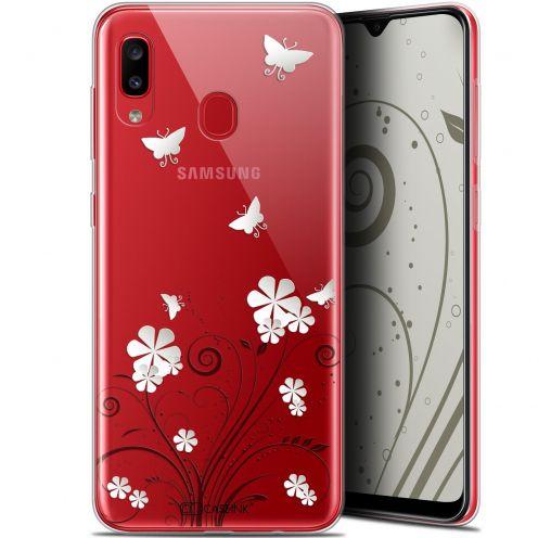 "Carcasa Gel Extra Fina Samsung Galaxy A20 (6.4"") Summer Papillons"