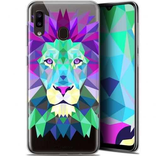 "Carcasa Gel Extra Fina Samsung Galaxy A20 (6.4"") Polygon Animals León"