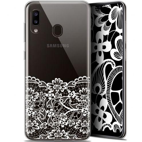 """Carcasa Gel Extra Fina Samsung Galaxy A20 (6.4"""") Spring Bas dentelle"""