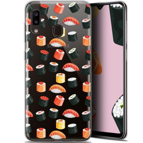 """Carcasa Gel Extra Fina Samsung Galaxy A20 (6.4"""") Foodie Sushi"""