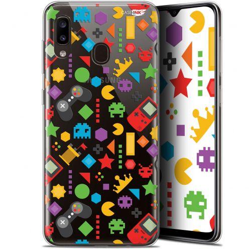 "Carcasa Gel Extra Fina Samsung Galaxy A20 (6.4"") Design PacMan"