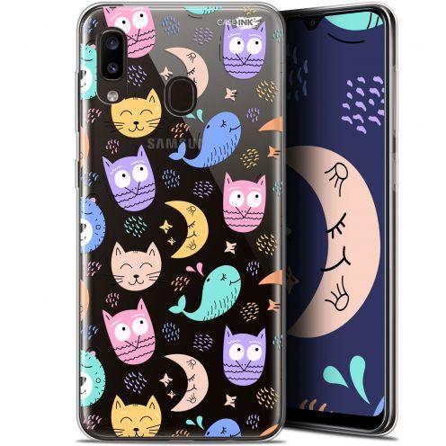 "Carcasa Gel Extra Fina Samsung Galaxy A20 (6.4"") Design Chat Hibou"