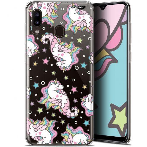 "Carcasa Gel Extra Fina Samsung Galaxy A20 (6.4"") Design Licorne Dormante"
