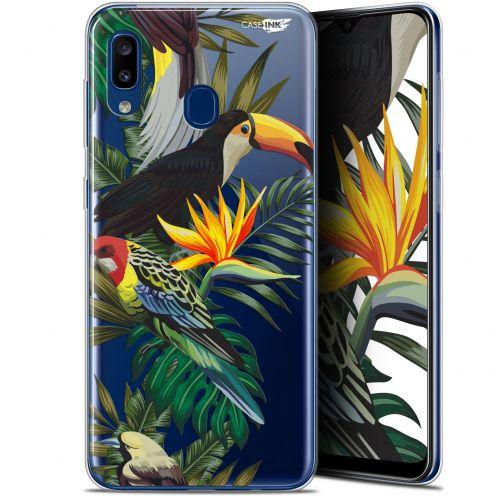 """Carcasa Gel Extra Fina Samsung Galaxy A20 (6.4"""") Design Toucan Tropical"""