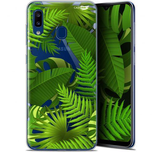 "Carcasa Gel Extra Fina Samsung Galaxy A20 (6.4"") Design Plantes des Tropiques"