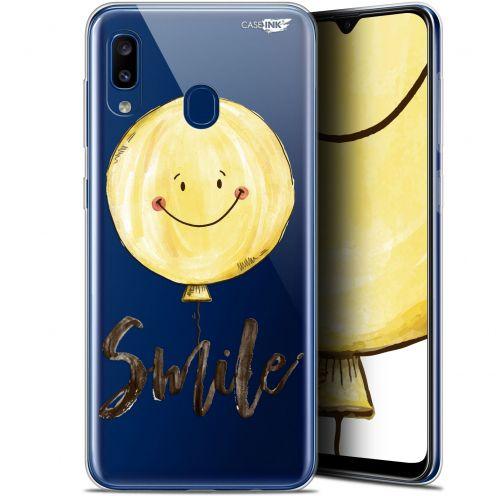 """Carcasa Gel Extra Fina Samsung Galaxy A20 (6.4"""") Design Smile Baloon"""