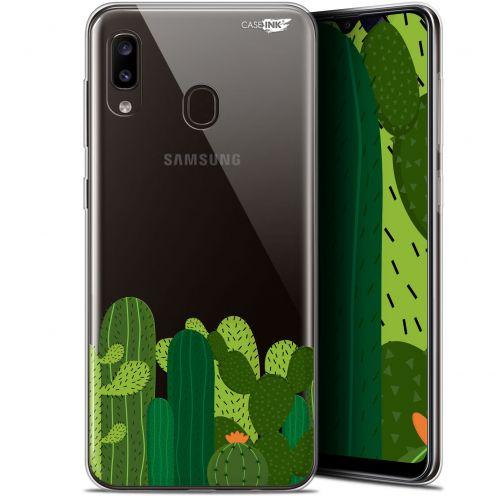 "Carcasa Gel Extra Fina Samsung Galaxy A20 (6.4"") Design Cactus"
