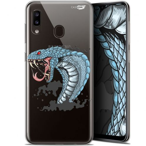 "Carcasa Gel Extra Fina Samsung Galaxy A20 (6.4"") Design Cobra Draw"