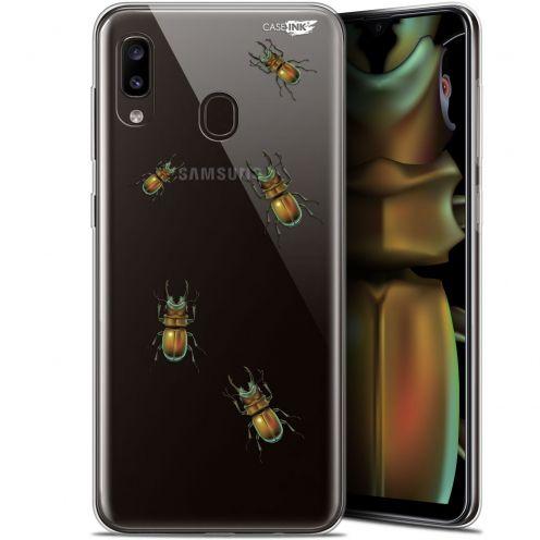 "Carcasa Gel Extra Fina Samsung Galaxy A20 (6.4"") Design Petits Scarabés"