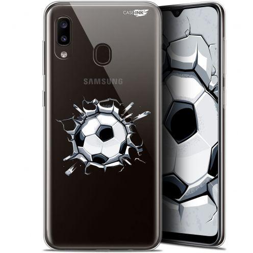 """Carcasa Gel Extra Fina Samsung Galaxy A20 (6.4"""") Design Le Balon de Foot"""