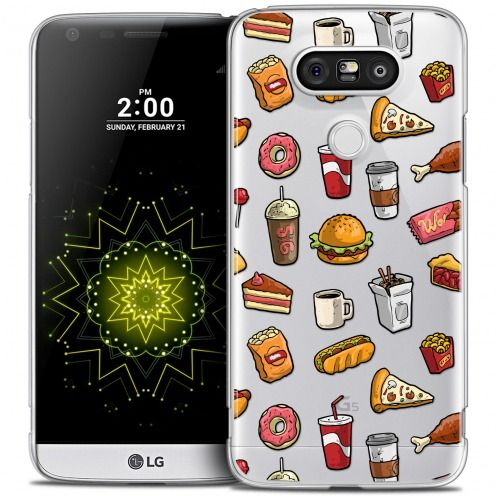Carcasa Crystal Extra Fina LG G5 Foodie Fast Food