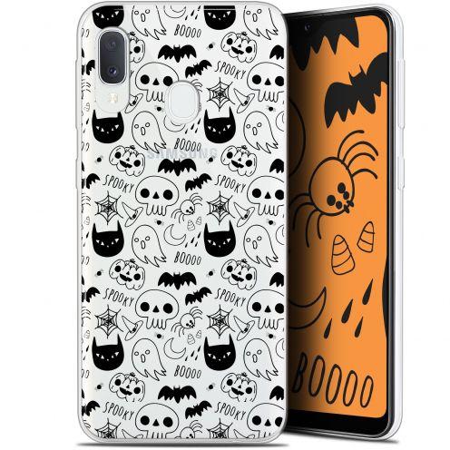 """Carcasa Gel Extra Fina Samsung Galaxy A20E (5.8"""") Halloween Spooky"""