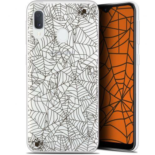 "Carcasa Gel Extra Fina Samsung Galaxy A20E (5.8"") Halloween Spooky Spider"