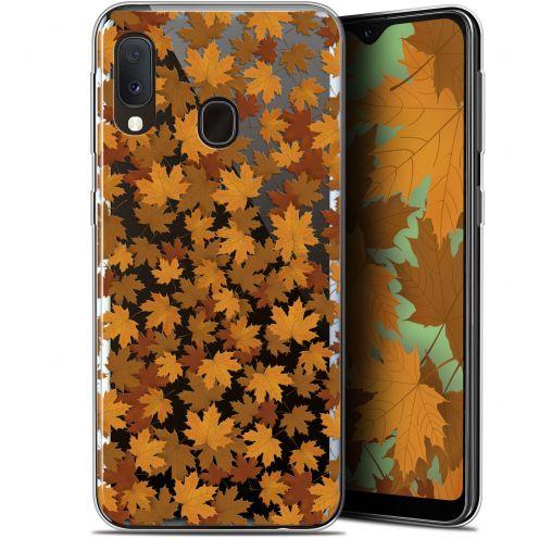 """Carcasa Gel Extra Fina Samsung Galaxy A20E (5.8"""") Autumn 16 Feuilles"""