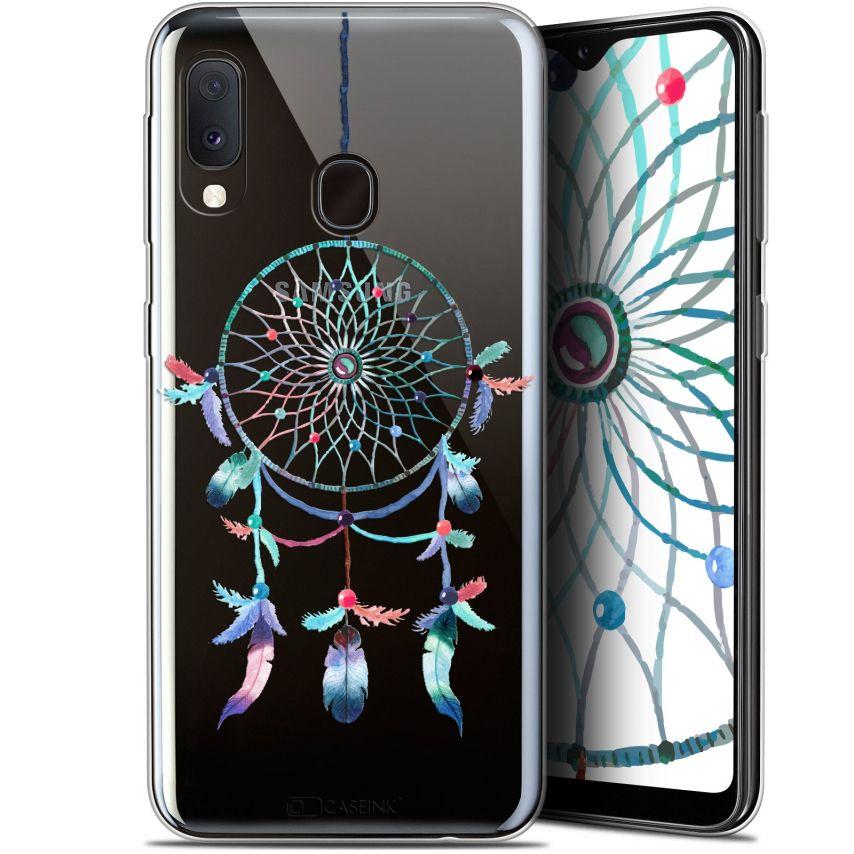 "Carcasa Gel Extra Fina Samsung Galaxy A20E (5.8"") Dreamy Attrape Rêves Rainbow"