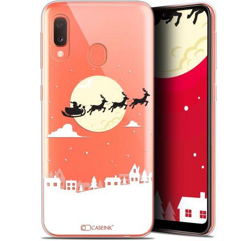 """Carcasa Gel Extra Fina Samsung Galaxy A20E (5.8"""") Noël 2017 Flying Stanta"""