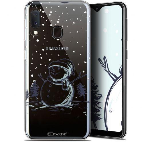 "Carcasa Gel Extra Fina Samsung Galaxy A20E (5.8"") Noël 2017 Bonhomme de Neige"