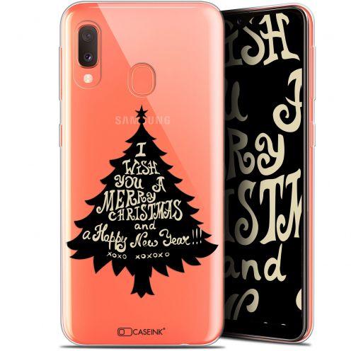 """Carcasa Gel Extra Fina Samsung Galaxy A20E (5.8"""") Noël 2017 XOXO Tree"""