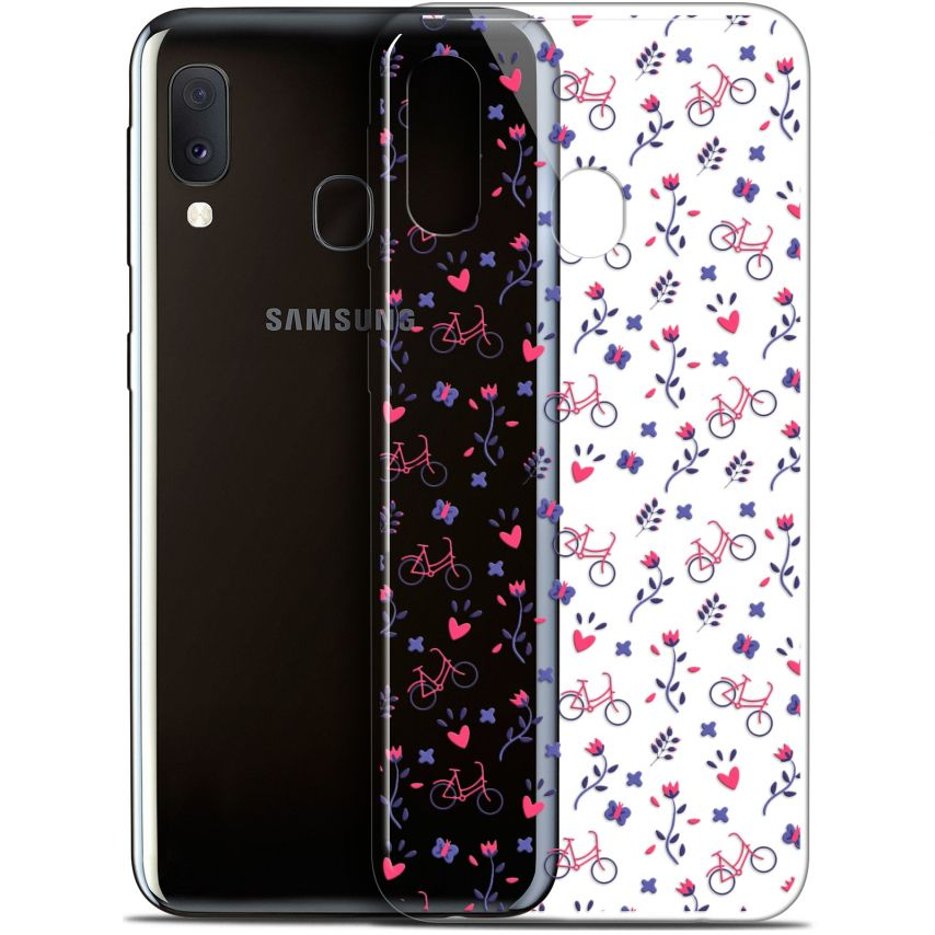 "Carcasa Gel Extra Fina Samsung Galaxy A20E (5.8"") Love Bicycle"
