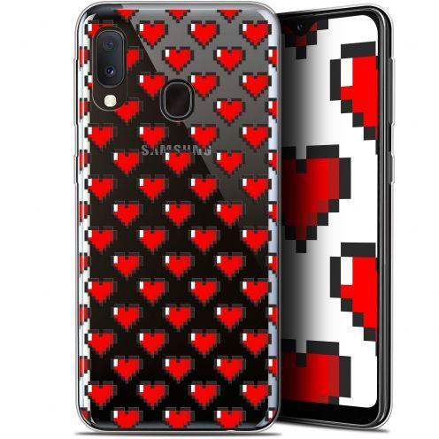 """Carcasa Gel Extra Fina Samsung Galaxy A20E (5.8"""") Love Pixel Art"""