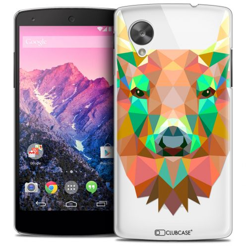 Carcasa Crystal Extra Fina Nexus 5 Polygon Animals Ciervo