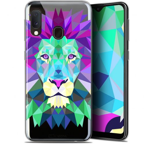 "Carcasa Gel Extra Fina Samsung Galaxy A20E (5.8"") Polygon Animals León"
