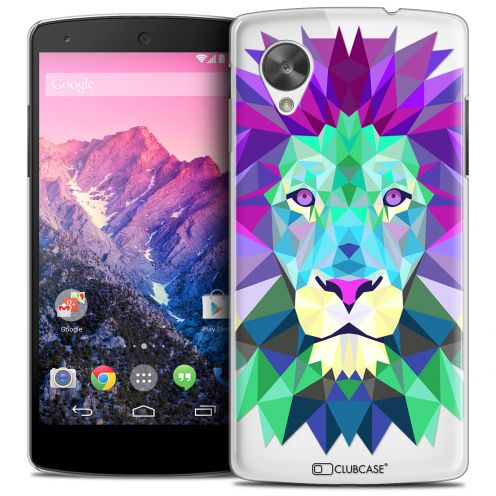 Carcasa Crystal Extra Fina Nexus 5 Polygon Animals León