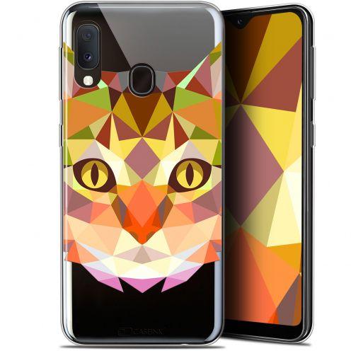 """Carcasa Gel Extra Fina Samsung Galaxy A20E (5.8"""") Polygon Animals Gato"""
