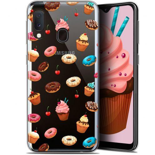 "Carcasa Gel Extra Fina Samsung Galaxy A20E (5.8"") Foodie Donuts"