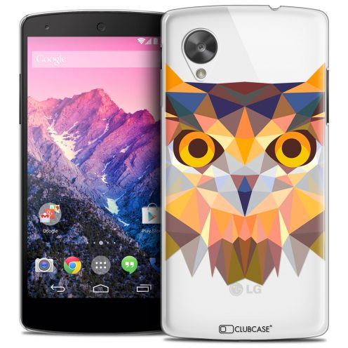 Carcasa Crystal Extra Fina Nexus 5 Polygon Animals Búho
