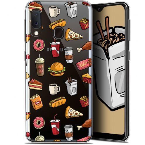 """Carcasa Gel Extra Fina Samsung Galaxy A20E (5.8"""") Foodie Fast Food"""