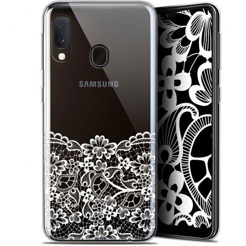 """Carcasa Gel Extra Fina Samsung Galaxy A20E (5.8"""") Spring Bas dentelle"""