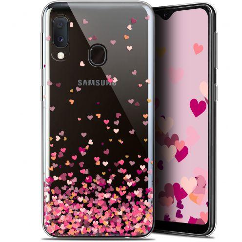 "Carcasa Gel Extra Fina Samsung Galaxy A20E (5.8"") Sweetie Heart Flakes"