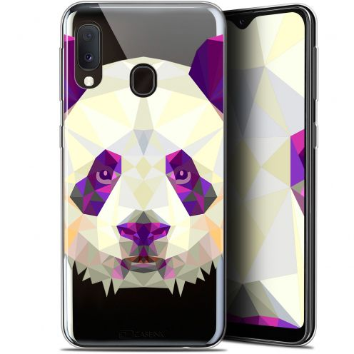 "Carcasa Gel Extra Fina Samsung Galaxy A20E (5.8"") Polygon Animals Panda"