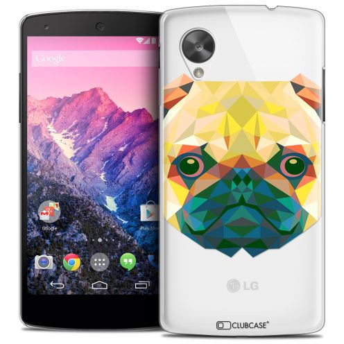 Carcasa Crystal Extra Fina Nexus 5 Polygon Animals Perro