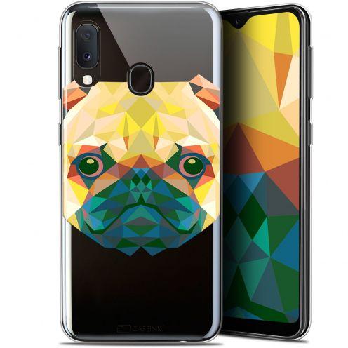 "Carcasa Gel Extra Fina Samsung Galaxy A20E (5.8"") Polygon Animals Perro"