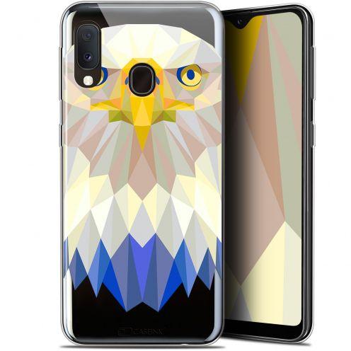 """Carcasa Gel Extra Fina Samsung Galaxy A20E (5.8"""") Polygon Animals Águila"""