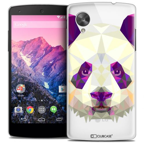 Carcasa Crystal Extra Fina Nexus 5 Polygon Animals Panda