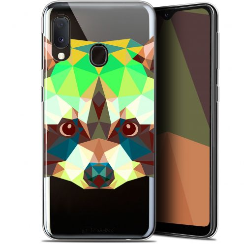 """Carcasa Gel Extra Fina Samsung Galaxy A20E (5.8"""") Polygon Animals Raton Laveur"""