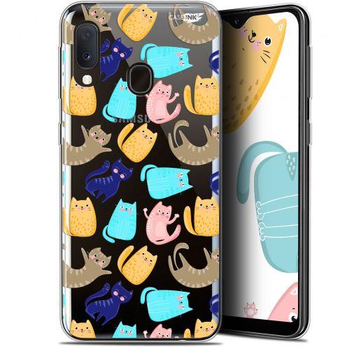 "Carcasa Gel Extra Fina Samsung Galaxy A20E (5.8"") Design Chat Danse"
