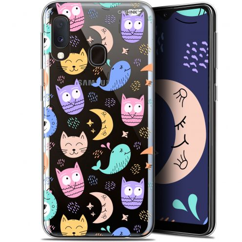 "Carcasa Gel Extra Fina Samsung Galaxy A20E (5.8"") Design Chat Hibou"