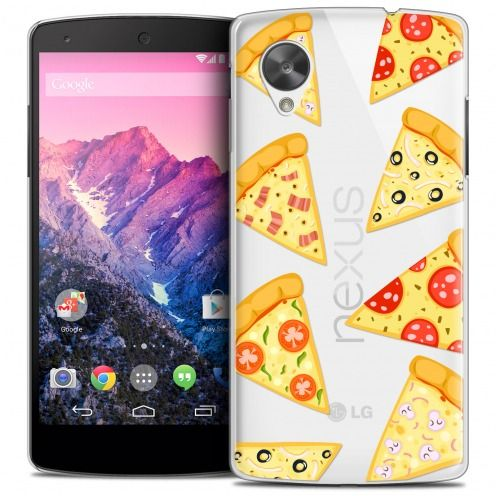 Carcasa Crystal Extra Fina Nexus 5 Foodie Pizza