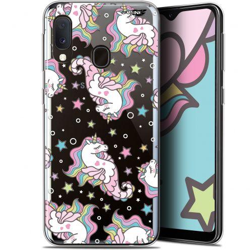 "Carcasa Gel Extra Fina Samsung Galaxy A20E (5.8"") Design Licorne Dormante"