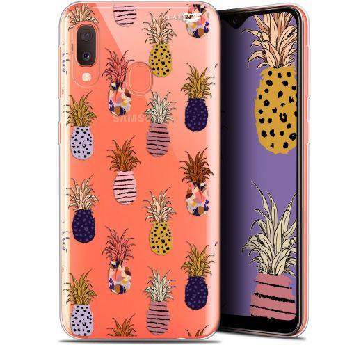 "Carcasa Gel Extra Fina Samsung Galaxy A20E (5.8"") Design Ananas Gold"